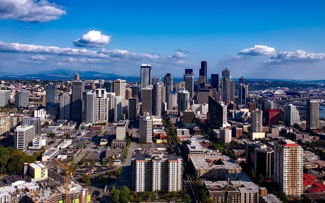 competitive real estate market seattle skyline