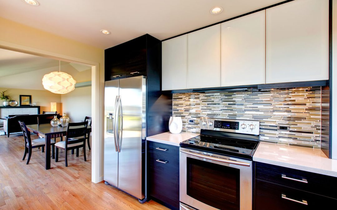 kitchen remodel ideas include installing a backsplash