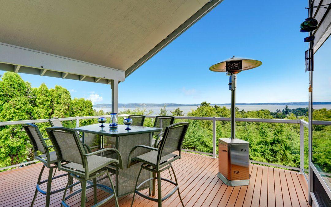 heat your outdoor living space